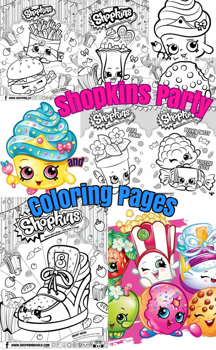 Shopkins coloring pages nail polish - Shopkins Birthday Party Ideas And Shopkins Coloring Pages For Kids Diy Craft Ideas For Kids