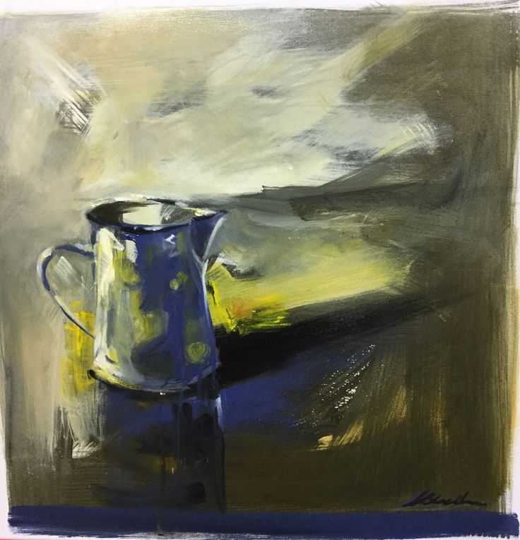 Memories, The Spotted Jug – Oil on canvas  PLATFORMstore