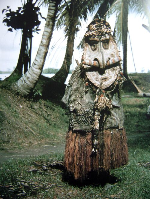 """This is called """"shaman"""". Looks like Sepik River to me."""