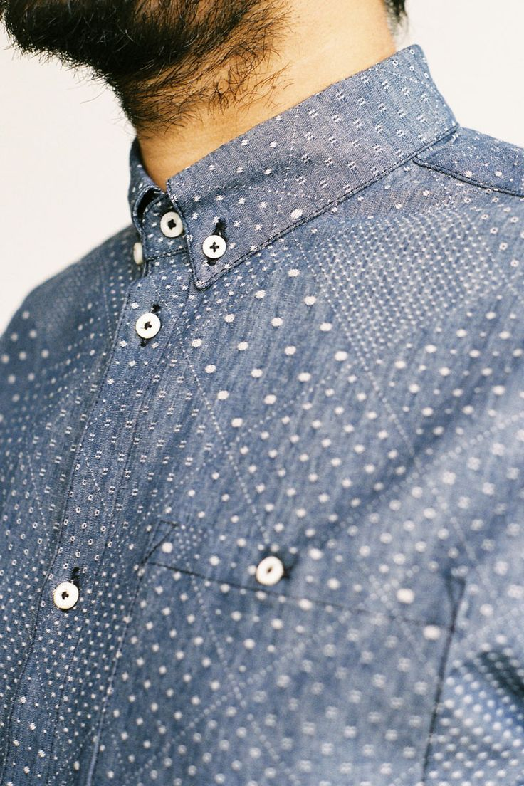 This pattern, with short sleeves... // drugsonsale:  A Kind Of Guise TACUBA SHIRT €170.00
