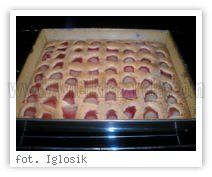 Szybkie ciasto pelnoziarniste z owocami