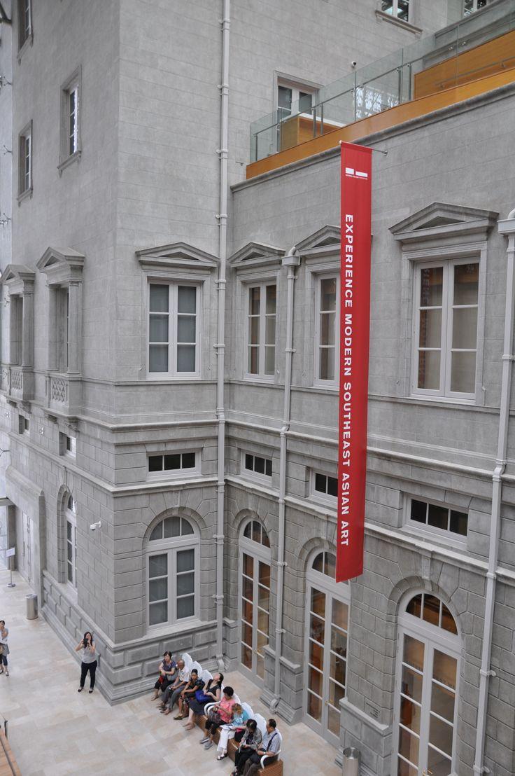 National Gallery Singapore - museum of Singapore and SEA modern art.  Opened 24 Nov 2015.