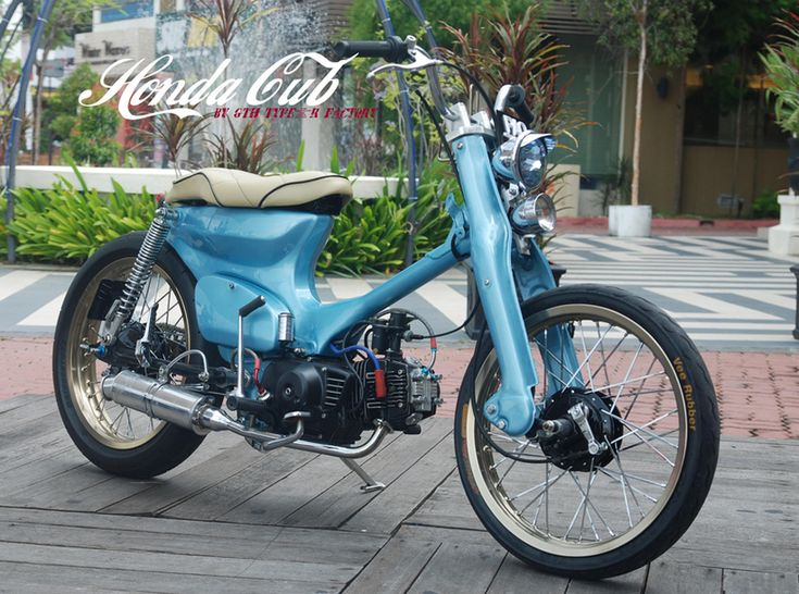 Corpses From Hell MG: Customised Honda Cub