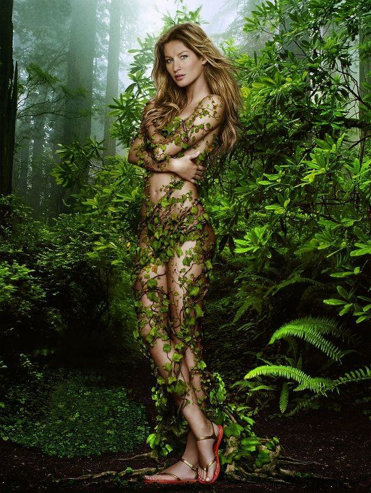 Gisele Bundchen - Earth Mother - Earth Day 2012