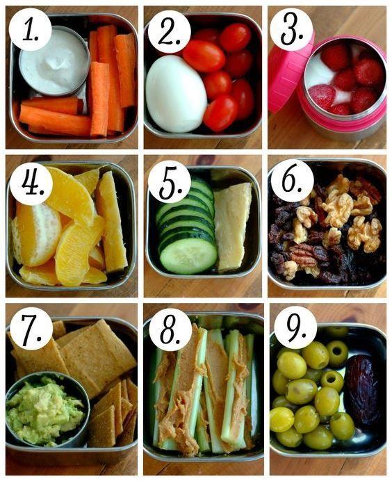 Descubre estas ideas de snacks para el lunch de tus hijos. #Luchbox #Snacks #RegresoaClases