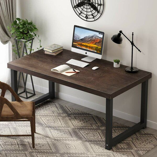 Macintyre Solid Wood Desk Rustic Computer Desk Solid Wood Desk