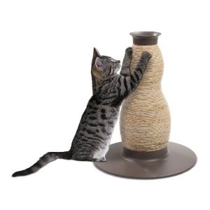 Catit Style Blow Molded Scratcher, Hourglass. Needs to be taller