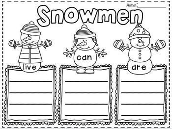 Winter Glyph Lesson Plan for Grade 1: Build a Snowman and Learn Math