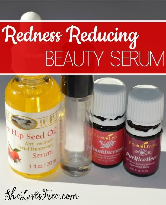 How to Make DIY Redness Reducing Beauty Serum