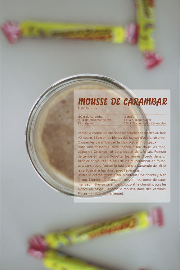 Mousse de Carambar
