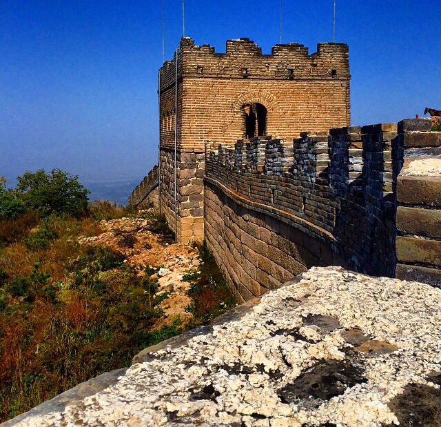 1st time on the Great Wall. #fabulouschallenges