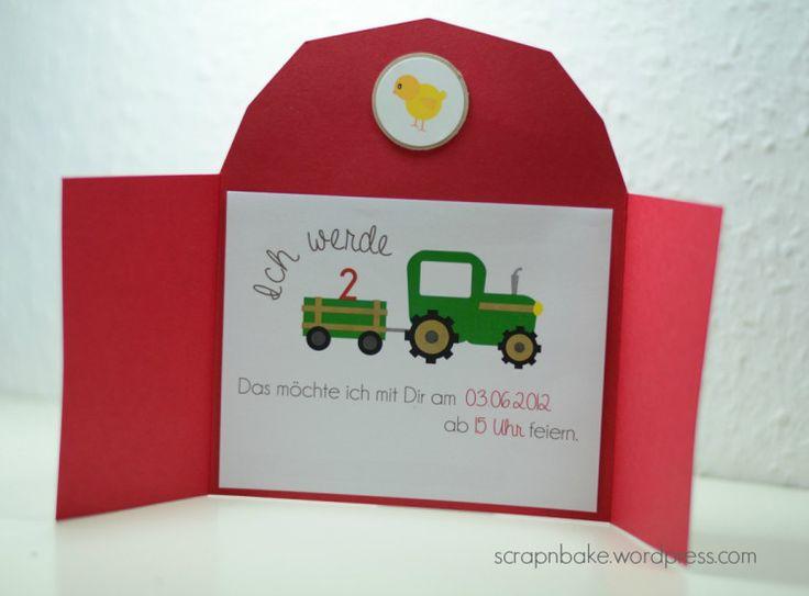 kindergeburtstag einladung bauernhof – kathyprice, Einladungsentwurf