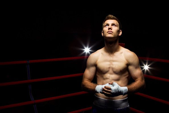 Jeff Horn Jeff Horn poses poses during a portrait session at the 2012 Australian Olympic Games Boxing Team Announcement