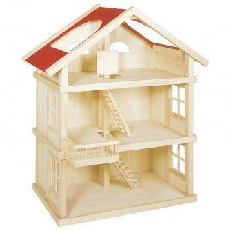 Goki 51957 - Puppenhaus drei Etagen