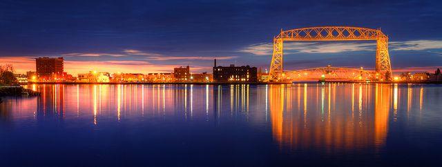 Wow! Ken Harmon has this fantastic Photo! Arial Lift Bridge in Canal Park, Duluth, MN