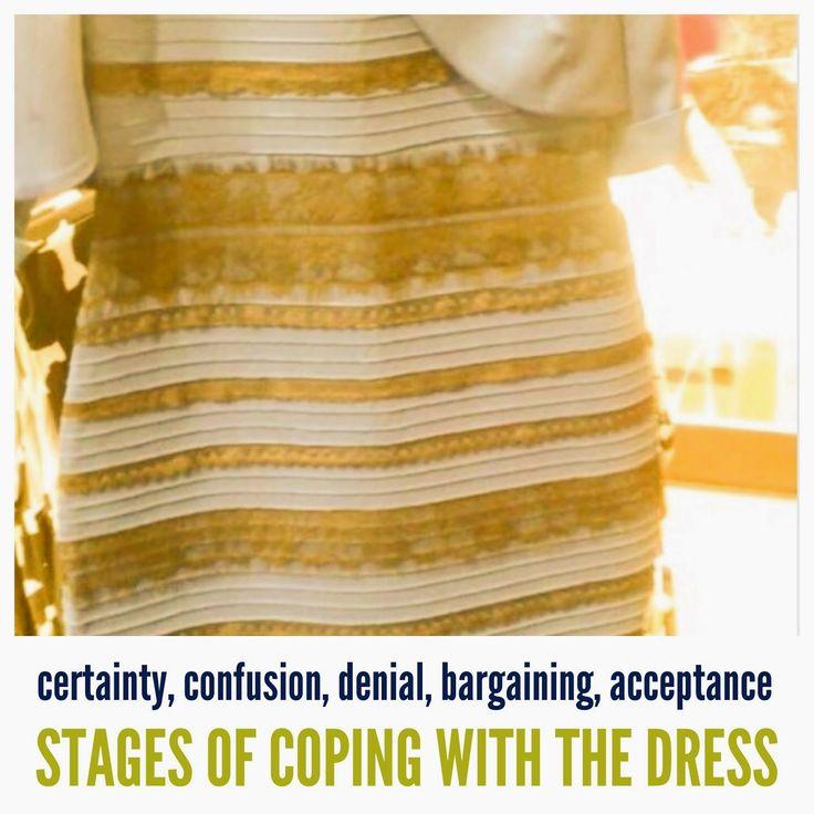 Internet sensation white and gold dress