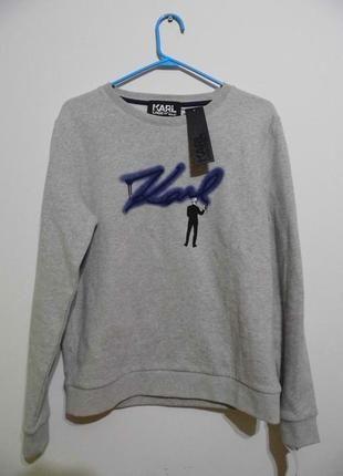 Karl Lagerfeld nowa bluza XS S szara