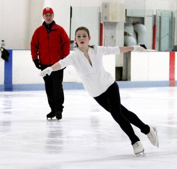 Gracie Gold, 16, trains at Center Ice of DuPage in Glen Ellyn with Oleg Epstein, one of her coaches. Gold is from Springfield, but trains in the suburbs during the week. She recently won the gold medal on the junior level at the U.S. Figure Skating Championships, and later this month, she will be competing at the World Junior Figure Skating Championships in Belarus.