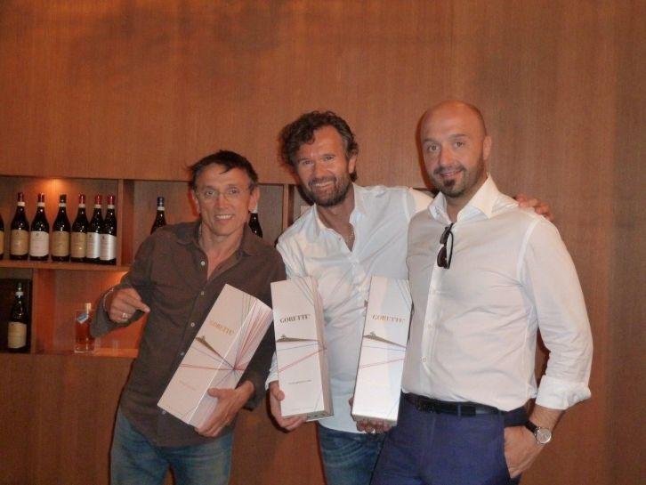 Cracco, Bastianich e Barbieri di Masterchef Italia nelle Langhe!!