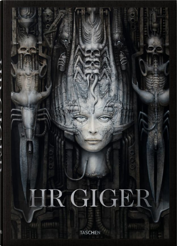 h.r. giger art store with Giger prints, Giger posters, and Giger art.