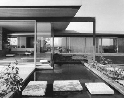 CASA SINGLETON Los Angeles  Richard Neutra 1959