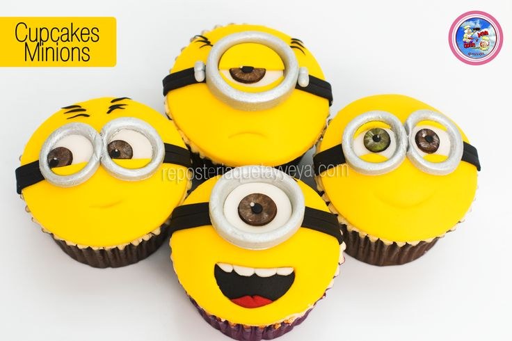 Cupcakes Minions - Minions cupcakes