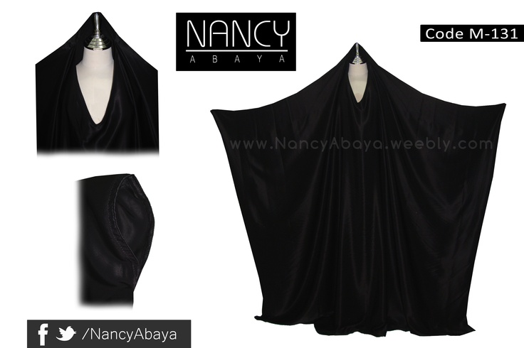 Overhead Abaya code : M-131  Email : NancyAbaya@Live.com  www.nancyabaya.weebly.com