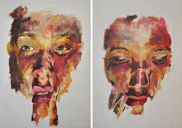 fine art portfolio examples