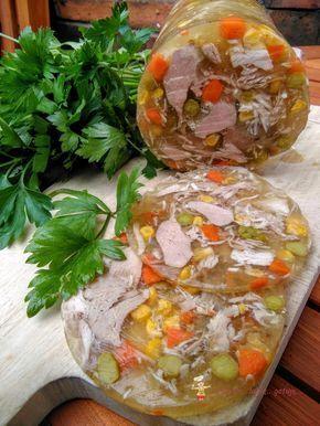 Indyk w galarecie z warzywami ~ kocham.. lubię.. gotuję..