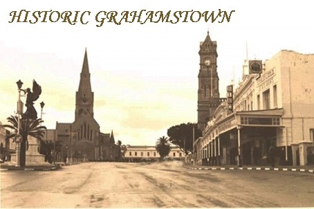 Grahamstown and its iconic Cathedral in the centre of town. The city of Saints.