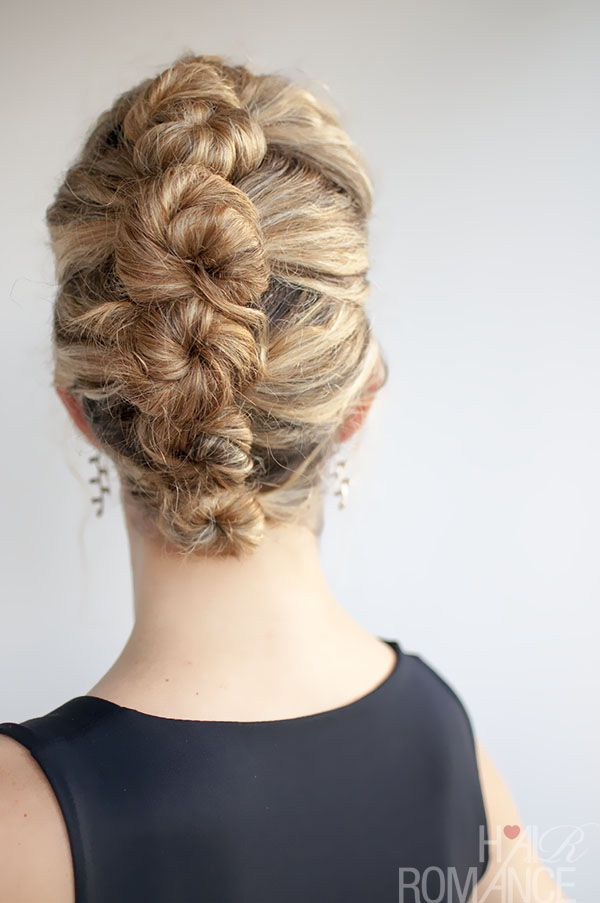 easy french twist updo for long hair | Curly hair tutorial – the French Roll Twist and Pin Hairstyle | Hair ...