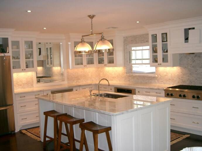 Superb Connemara Marble For A Kitchen Counter | White Carreera Marble Kitchen  Countertops | Saturday By Appointments ... | Irish Kitchens | Pinterest |  Countertops ...