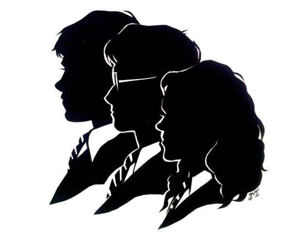 hogwarts silhouette clipart - Google Search