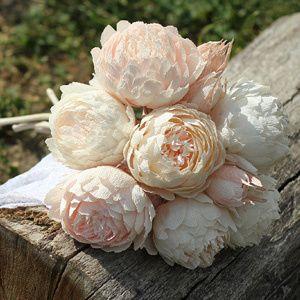 crepe paper flowers, paper flowers, paper peonies