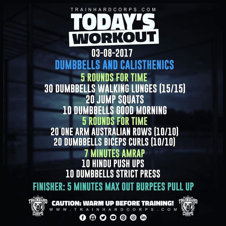Here it is pals!!! The new #trainhardcorpstodaysworkout is online! Enjoy that dumbbells and calisthenics mix!! #calisthenics #calisthenicsmovement #dumbbells #bodyweighttraining #bodybuilding #strength #endurance #setsandreps #fitmotivation #gym #athletic #workout #wod #training