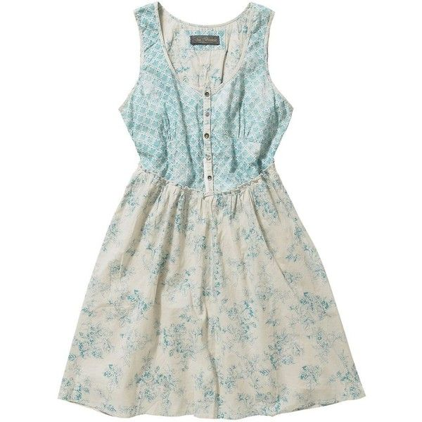 Multi Coloured Country Manor Dress ($30) ❤ liked on Polyvore featuring dresses, vestidos, tops, blue, women's clothing, multicolored dress, multicolor dress, multi color dress, vintage style dresses and multi colored dress