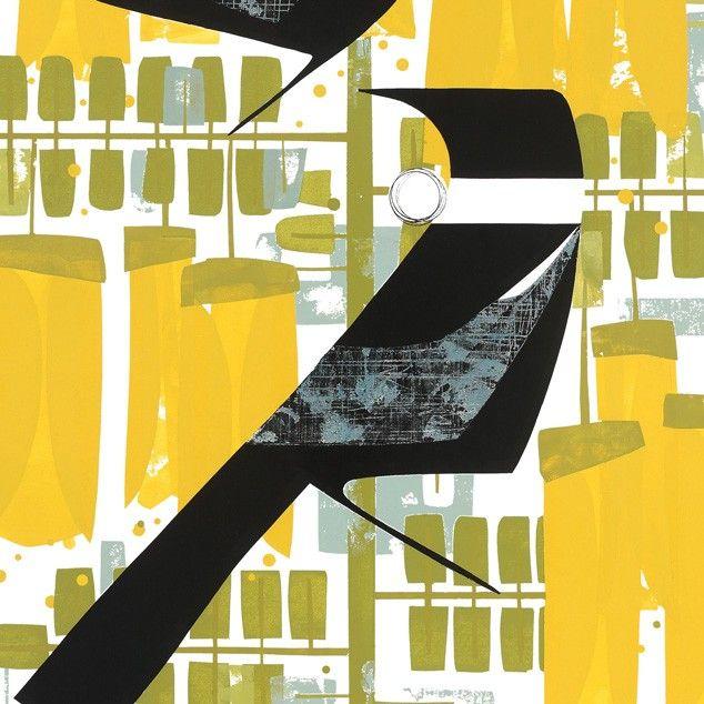 A Conversation Art Print by Holly Roach NZ Art Prints, Art Framing Design Prints, Posters & NZ Design Gifts | endemicworld