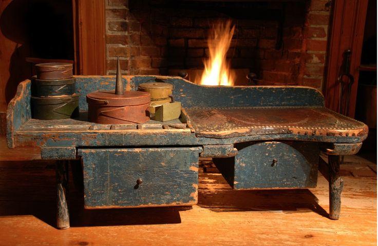 antique cobbler's bench