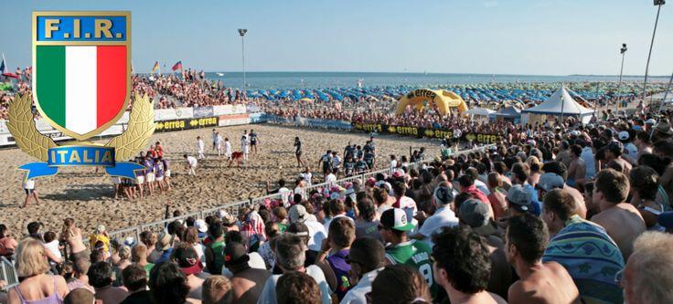 Beachfives fans in Lignano