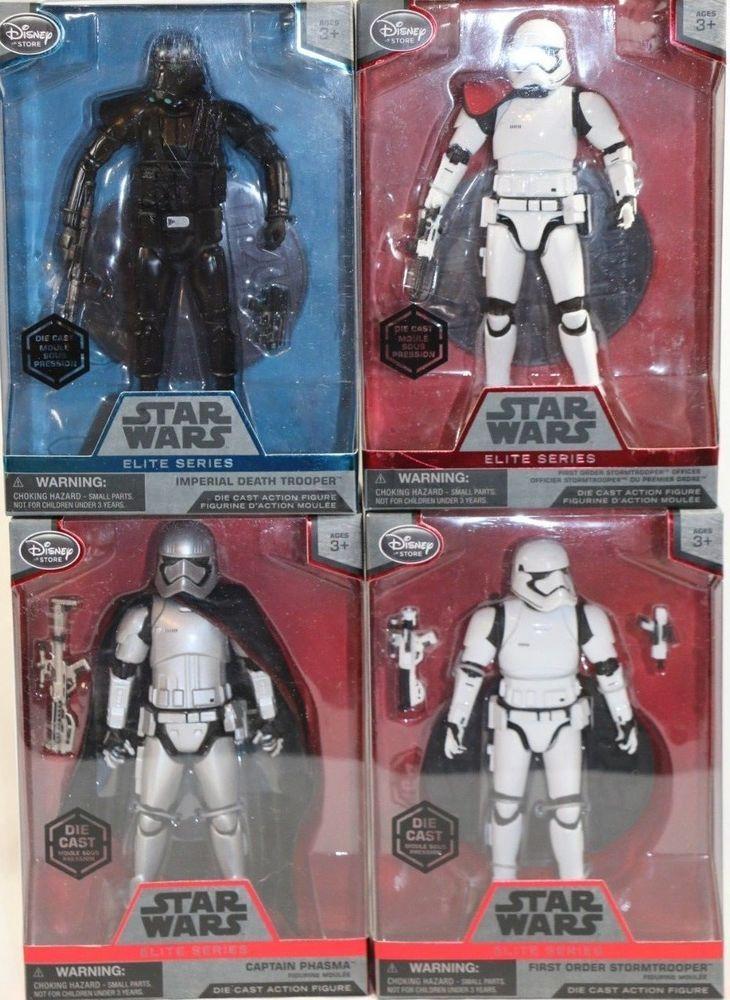 6 1//2 ... Star Wars Imperial Death Trooper Elite Series Die Cast Action Figure