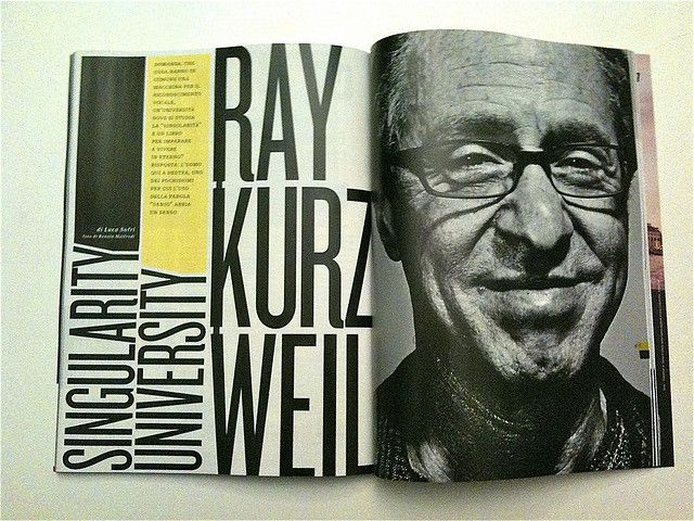 Wired article: Ray Kurzweil,  Singularity University by david.orban, via Flickr
