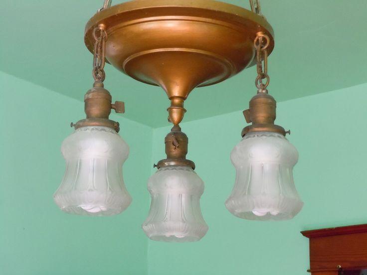 Dining room light fixture in sears starlight