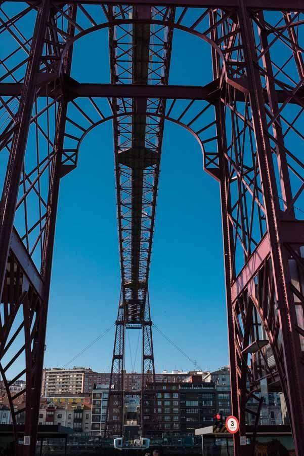 Vizcaya Bridge by Ángel Robles. Travel photography.