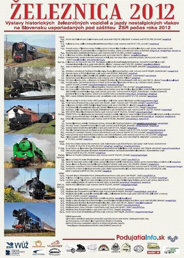 Železnica 2012