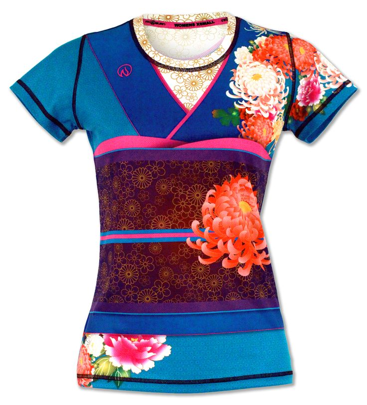 Women's Kimono Tech Shirt for Running, Gym & Crossfit - This shirt is the best and super flattering to all shapes!