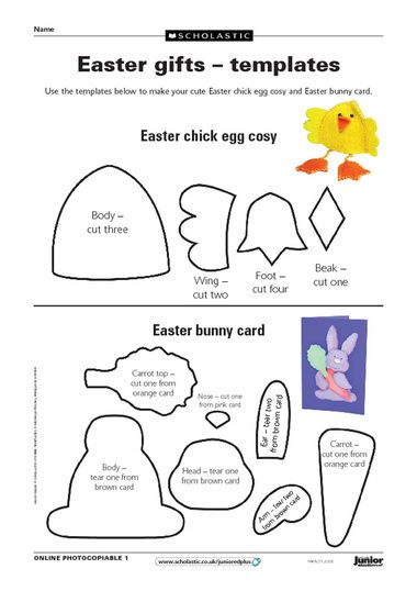 18 best easter resources images on pinterest use these templates to make a cute chick egg cosy and easter rabbit card negle Choice Image