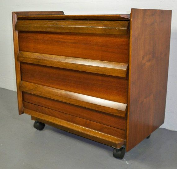 Items Similar To Mid Century Record Cabinet / Holder By Lane Furniture On  Etsy