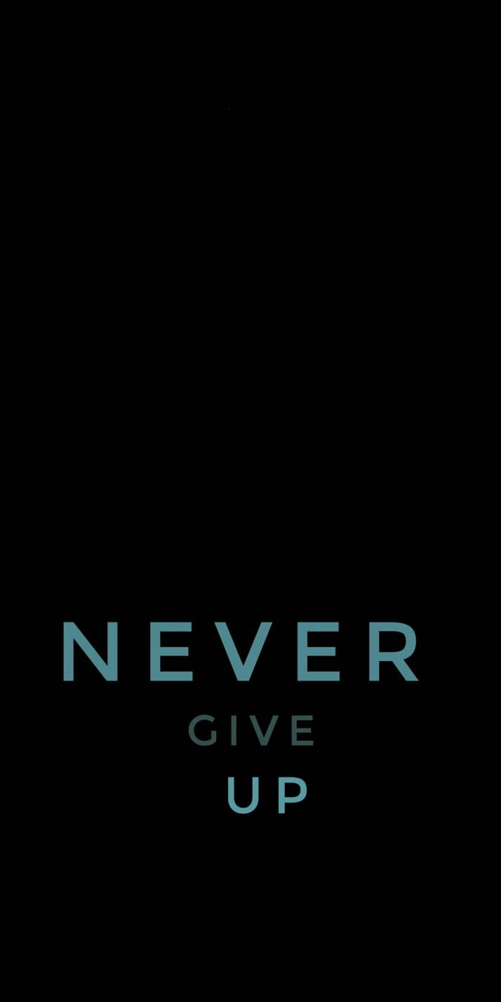 Never Give Uo Inspirational Quotes Pictures Motivational Quote Posters Words Wallpaper