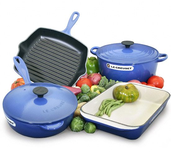 I wouldn't take anything for my Le Cruiset dutch oven and grill pans!