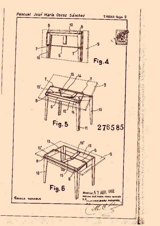 29 best images about folding tables on pinterest - Mesa plegable diseno ...